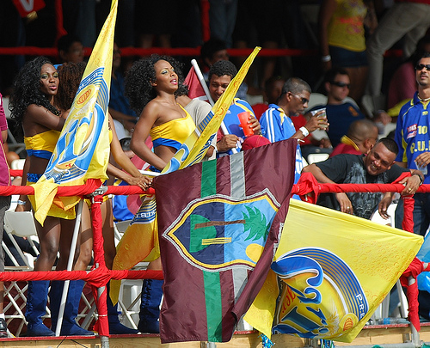 Photo: West Indies cricket fans.