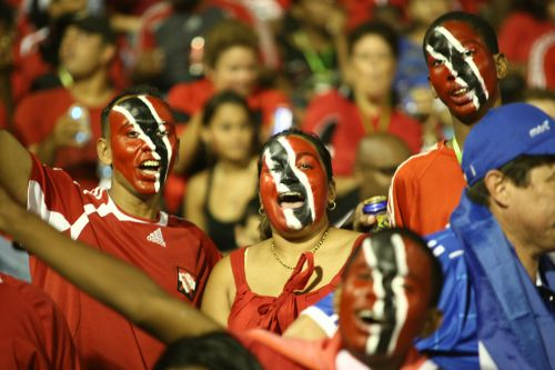 Photo: Trinidad and Tobago football fans overwhelmed their 2006 World Cup stars with financial requests after their return from Germany. (Courtesy TnT Times)