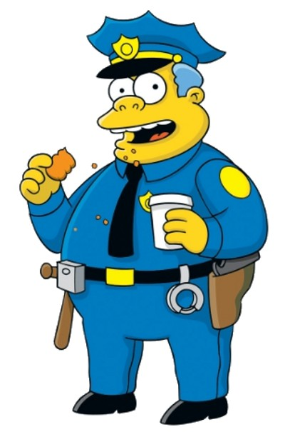 Photo: There is no evidence that Simpsons' character, Chief Clancy Wiggum, is investigating the Sea Lots tragedy. But he might fit right in.