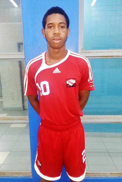Photo: Trinidad and Tobago national under-17 football team captain Brendon Creed. (Courtesy Victoria Walcott/Wired868)
