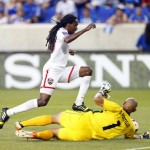 Warriors hold El Salvador 2-2 in Gold Cup opener