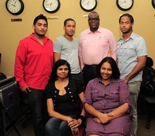 Photo: The new MATT executive committee (top row; left to right): Akash Samaroo, Khamal Georges, Curtis Williams, Jabari Fraser. (Bottom row left to right) Omatie Lyder and Carla Bridglal. Missing is Richard Charan.