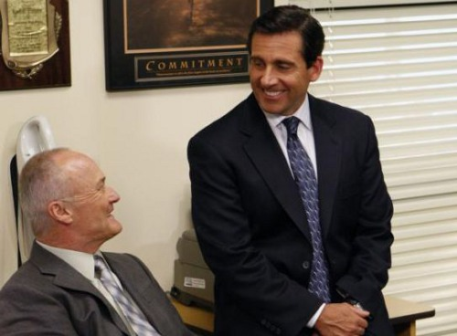 Photo: No, seriously George... I mean Creed. What do you do around here?