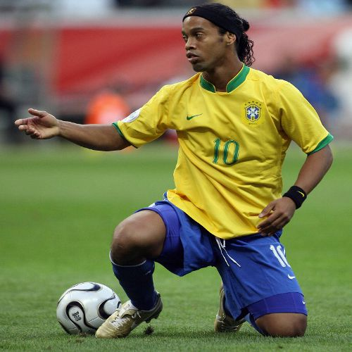Photo: Brazil football icon Ronaldinho. (Courtesy Marcus Brandt/ AFP)