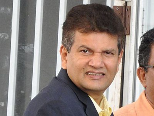 Photo: Ex-Tourism Minister, MP and sweetman brahmin Chandresh Sharma. (Courtesy Trinidad Guardian)