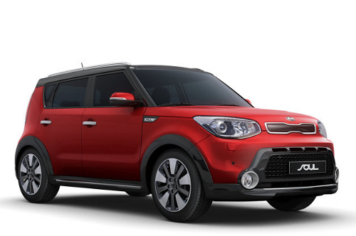 Photo: Nicholas Griffith will receive a Kia Soul soon... And he is hoping for a red one!