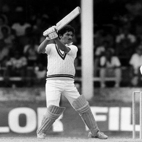 Photo: Trinidad and West Indies cricket star Larry Gomes.