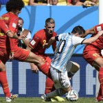 Krul heartbreak for Costa Rica; Argentina, Netherlands in final four
