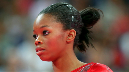 Photo: Former United States Olympic gold medal winner Gabby Douglas.