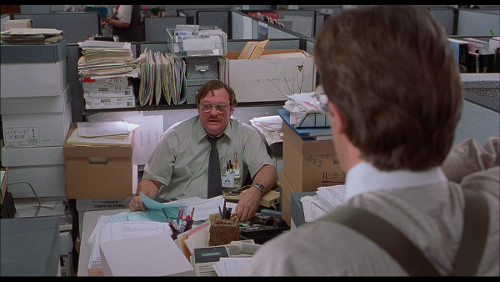 Photo: It is a matter of office space, right?