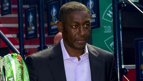 Photo: Inverness assistant manager and former Trinidad and Tobago football star Russell Latapy. (Courtesy BBC)