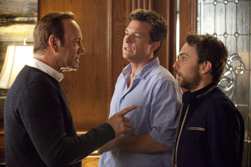 "Photo: Who told you that you could breathe?! A scene from the movie ""Horrible bosses."""