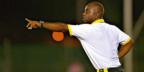 Photo: Jamaican coach Merron Gordon has graduated from his country's youth to senior ranks. (Courtesy CONCACAF)