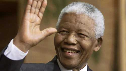 Photo: Late South Africa president Nelson Mandela. (Courtesy CBC)