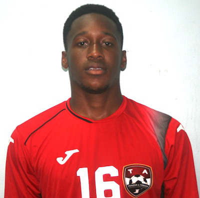 Photo: Trinidad and Tobago national under-20 defender Maurice Ford. (Courtesy TTFA Media)