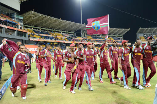 Photo: The West Indies cricket team during happier times.
