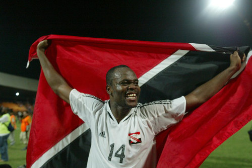 Photo: Trinidad and Tobago's all-time record scorer Stern John. (Copyright AFP 2015)