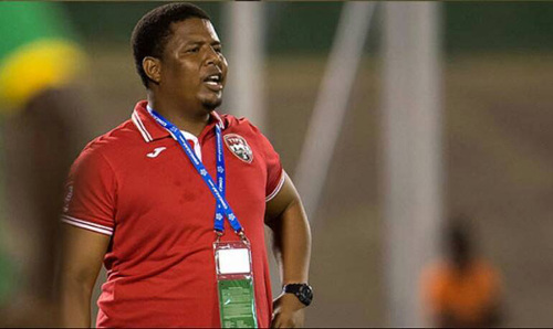 Photo: Trinidad and Tobago National Under-20 coach and former Joe Public coach Derek King. (Courtesy CONCACAF)