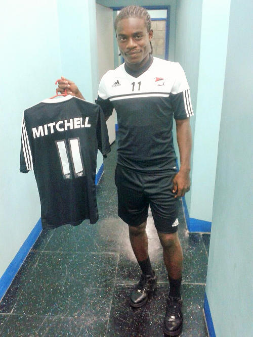 Photo: Central FC's Darren Mitchell. (Courtesy: Lisa Marie Brown/Wired868)
