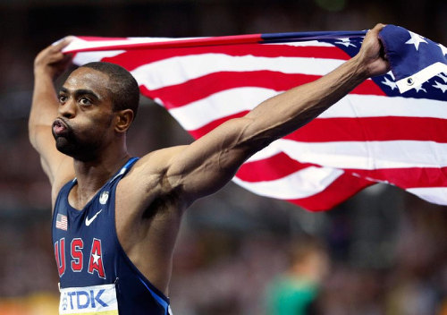 Photo: Sprinter Tyson Gay was using anabolic steroids when he helped the 4x100 metre US team to silver medals at the London 2012 Olympics. (Courtesy Vnews)