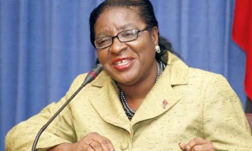 Photo: Former Tobago East MP and Minister of the People and Social Development, Vernella Alleyne-Toppin.