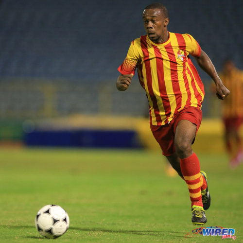 Photo: Point Fortin Civic attacker Marcus Joseph is set to join Central FC. (Courtesy Allan V Crane/Wired868)