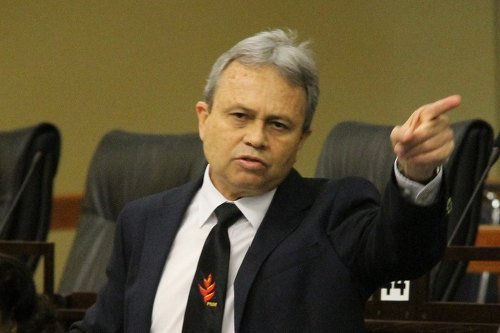 Photo: Minister of Finance Colm Imbert. (Courtesy Power102)