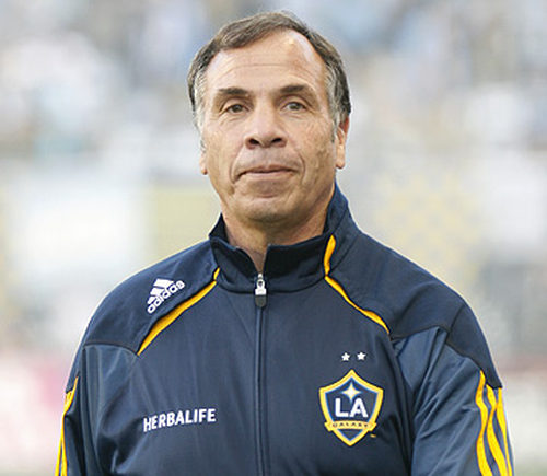 Photo: LA Galaxy coach and ex-US international coach Bruce Arena. (Copyright LA Soccer news)