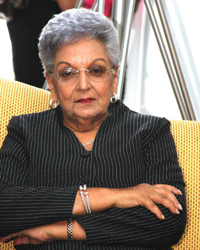 Photo: Retired Judge and former Integrity Commission member Gladys Gafoor. (Copyright Trinidad Guardian)
