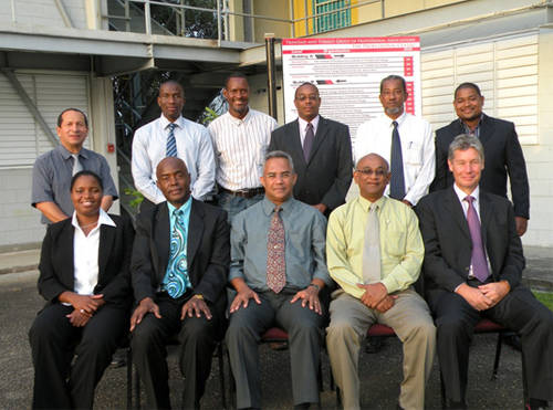 Photo: Association of Professional Engineers of Trinidad and Tobago (APETT) executive council. (Courtesy APETT.org)