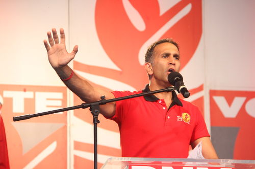 Photo: PNM Attorney General Faris Al-Rawi. (Copyright Elections.TT)