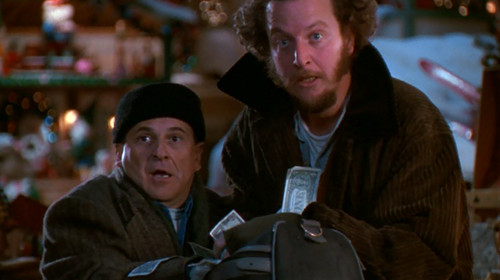 Photo: Finders, keepers. (Courtesy Home Alone)