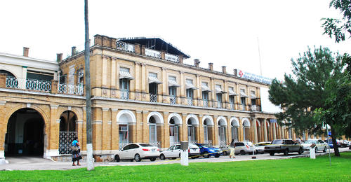 Photo: The Port of Spain General Hospital. (Courtesy nwrha.co.tt)