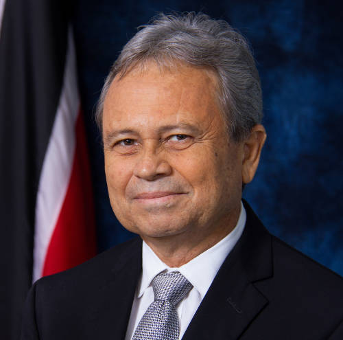 Photo: Finance Minister Colm Imbert. (Courtesy Ministry of Finance)