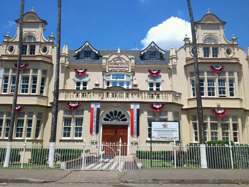 Photo: The Trinidad and Tobago National Museum on Frederick Street.
