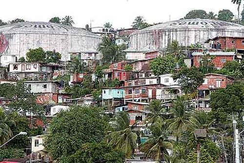 Photo: The Laventille hills. (Copyright Power102fm)