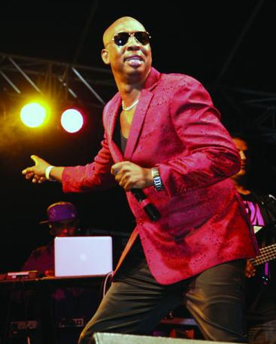 Photo: Soca star and entrepreneur Iwer George. (Courtesy Turnitupson)