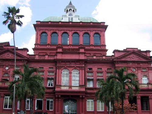 Photo: Trinidad and Tobago's Red House.