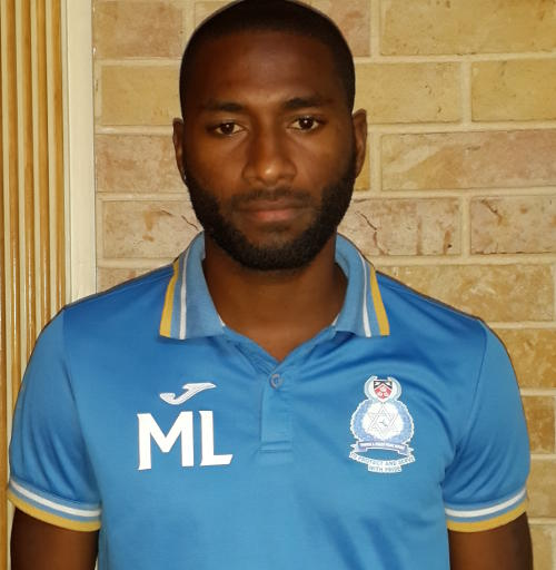 Photo: Police FC forward Makesi Lewis. (Courtesy: Laurel Hunt/Wired868)