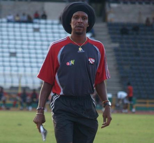 Photo: Trinidad and Tobago National Under-20 coach Brian Williams. (Courtesy TTFA Media)