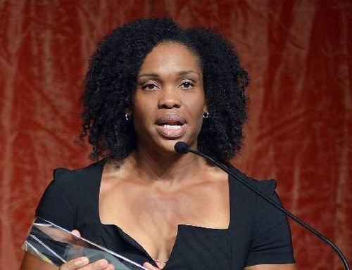 Photo: Cleopatra Borel is a four-time Trinidad and Tobago and TTOC Sportswoman of the Year. (Courtesy TTNAAA.org)