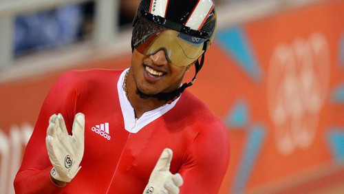 Photo: Trinidad and Tobago cyclist Njisane Phillip. (Copyright Track Cycling News)