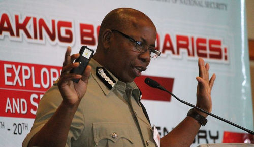 Photo: Acting Commissioner of Police Stephen Williams. (Copyright 103FM)