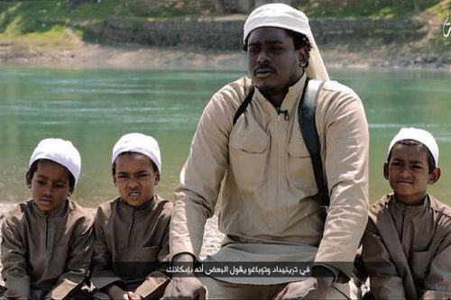 Photo: A self-proclaimed Trinidad and Tobago jihadist and ISIS fighter. (Copyright Caribbean360)