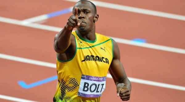 Usain's last lap—Pt 2: Bolt gets rare rear view on red-letter day