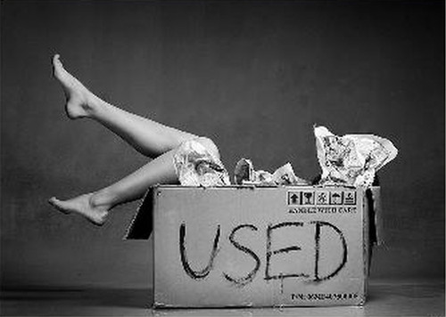 Photo: An image of sexual objectification. (Copyright Dmytro Honcharov)