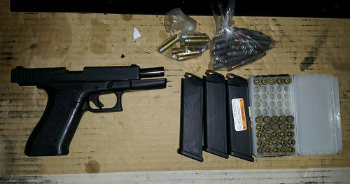 Photo: Illegal firearms in Trinidad and Tobago.