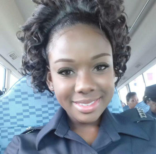 Photo: WPC Nyasha Joseph, the 22-year-old mother of a four-year-old girl, was found dead on Wednesday 15 March 2017.