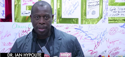 Photo: Dr Ian Hypolite, Trinidad and Tobago Olympic Committee (TTOC) executive member and Rio 2016 Olympic chef de mission.