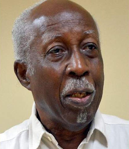 Photo: Former head of the Trinidad and Tobago Public Service and Ambassador to Washington, Reginald Dumas. (Copyright Trinidad Guardian)